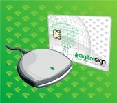 e-CPQ A3 - Cartão inteligente + Leitora