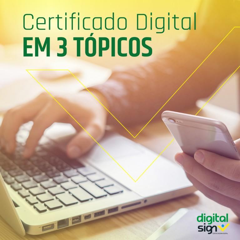 Ainda não conhece Certificado Digital?
