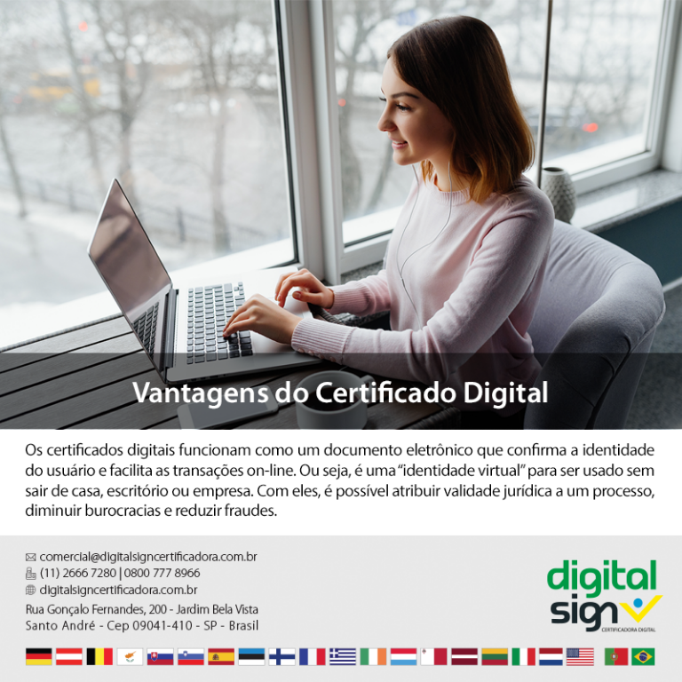 Vantagens do Certificado Digital
